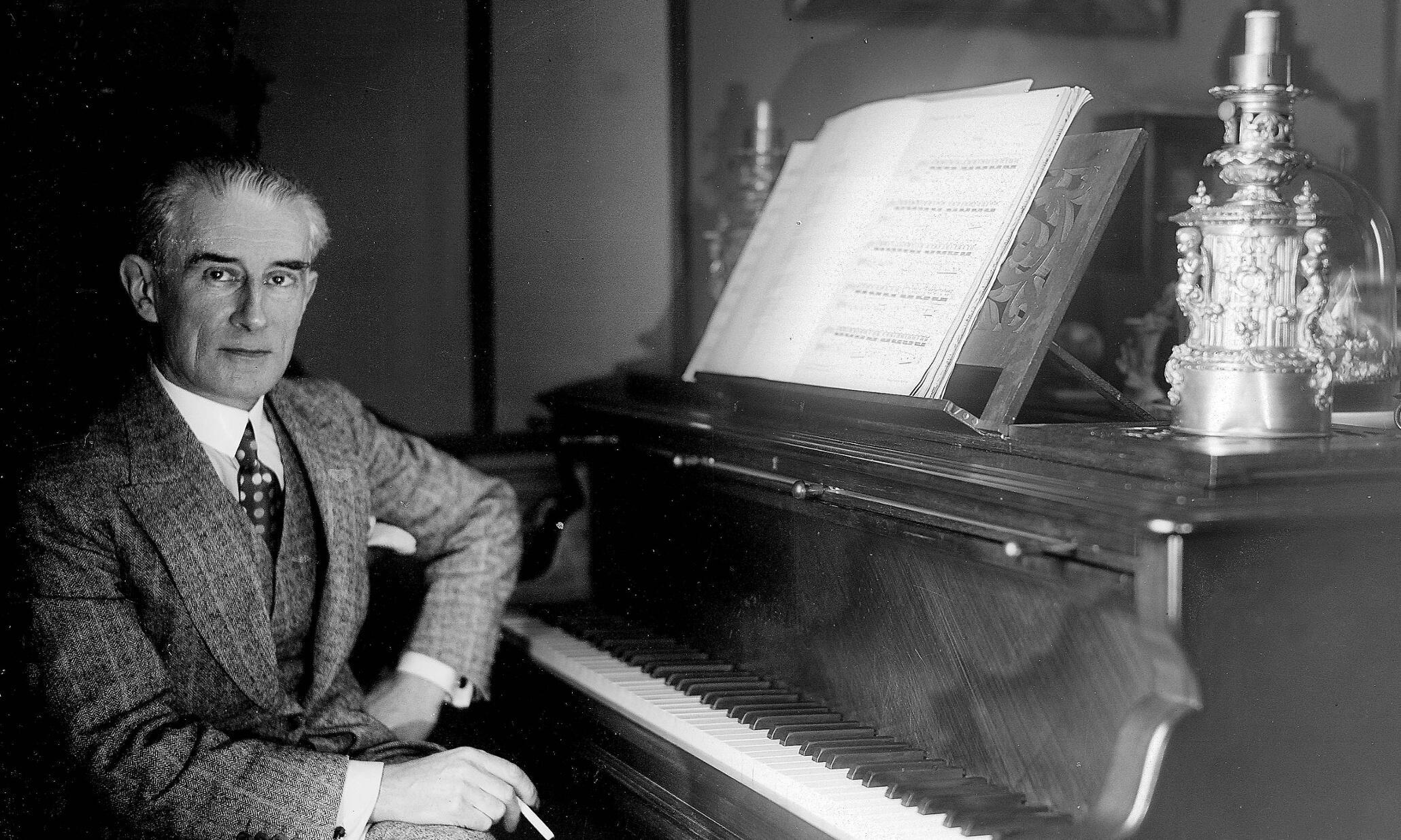 Nhạc sĩ Maurice Ravel (1875-1937)