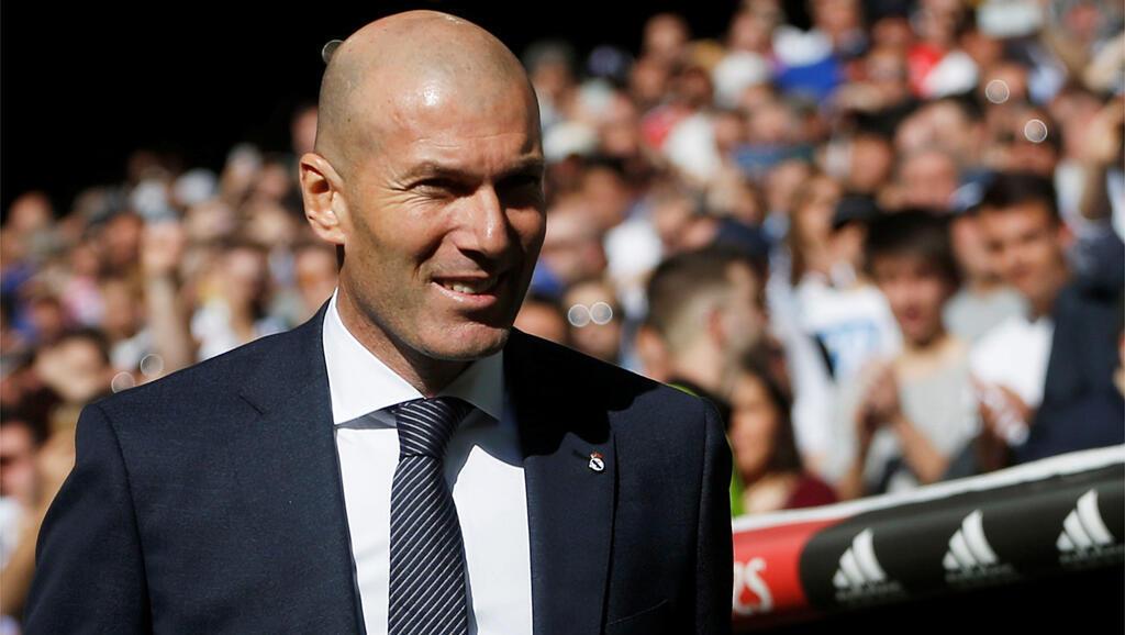 Zinedine Zidane, coach du Real Madrid, avant le match contre Celta Vigo, le 16 mars 2019.