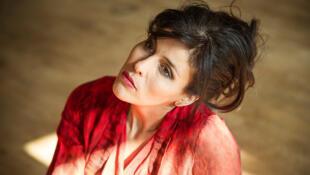 La chanteuse algérienne Souad Massi.