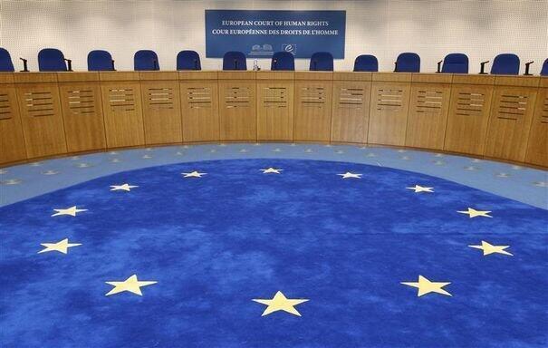 Зал заседаний Европейского суда по правам человека (ЕСПЧ)