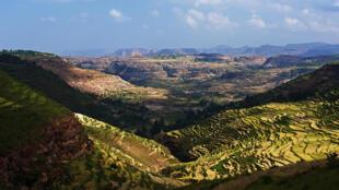 Une vue de la région du Tigré en Éthiopie, entre Adrigat et Askoum. (Photo d'illustration)