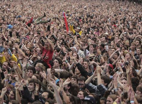 Na edição do ano passado, Rock en Seine reuniu 118 mil pessoas em três dias de evento.