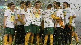 A seleção australiana é a terceira equipe a garantir vaga na Copa de 2014