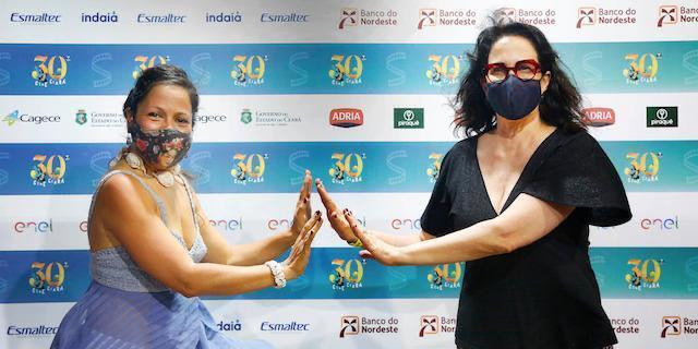 Anabel Rodríguez e Malu Campos no Cine Ceará