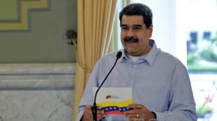 El presidente Maduro.