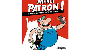 Poster of « Merci patron ! » by François Ruffin