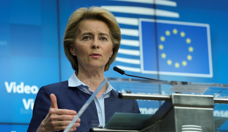 La présidente de la Commission européenne, Ursula von der Leyen, doit présenter un plan de relance susceptible de rassembler les Etats membres de l'UE.