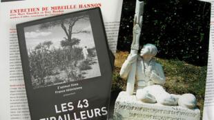 Du monument en hommage aux 43 tirailleurs, érigé à Clamecy dans la Nièvre (à dr.), à leur histoire en images.