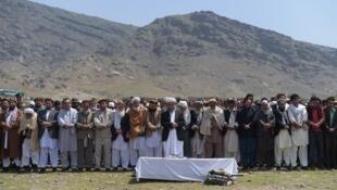 Funeral de vítima de ataque no Afeganistão