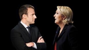 Emmanuel Macron & Marine Le Pen