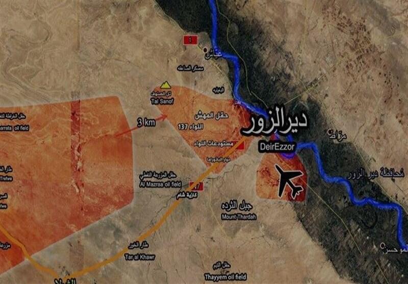 دمشق میگوید نیروهای ائتلاف منطقه دیرالزور را بمباران کرده اند
