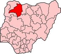 Taswirar Jihar Zamfara dake Nigeria