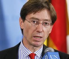 Balozi wa Ujerumani katika Umoja wa Mataifa UN Peter Wittig