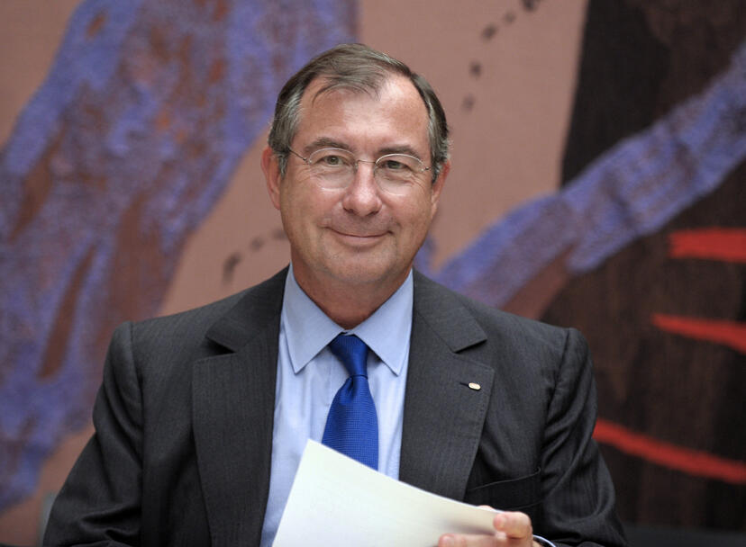 Bouygues CEO Martin Bouygues, who is still alive