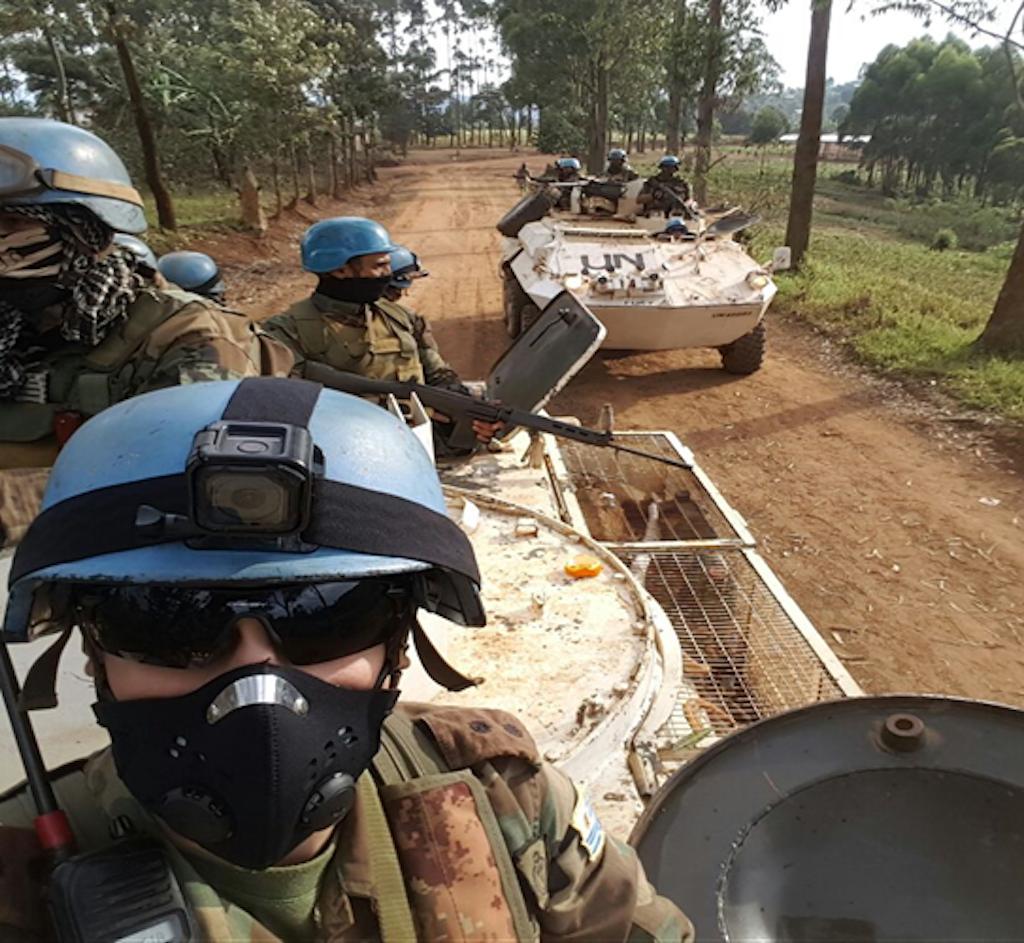 Wanajeshi wa kulinda amani Mashariki mwa DRC, MONUSCO.