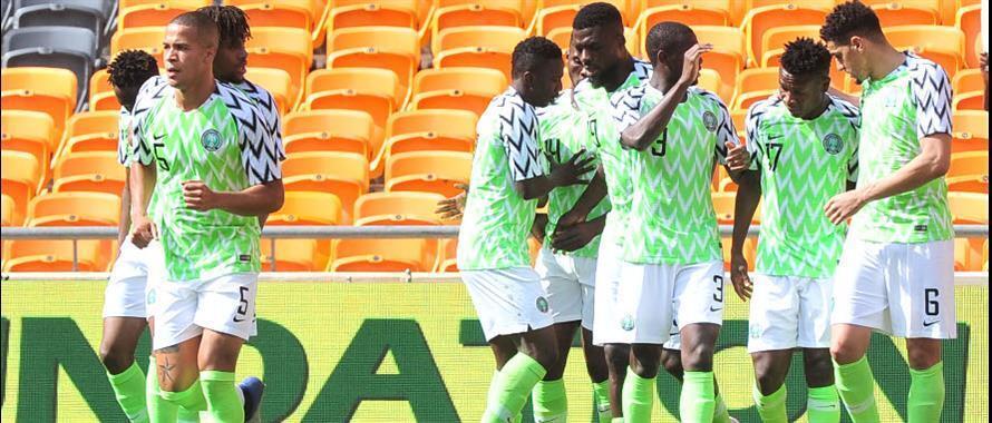 Wachezaji wa Nigeria
