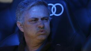 L'entraineur du Real Madrid, José Mourinho.