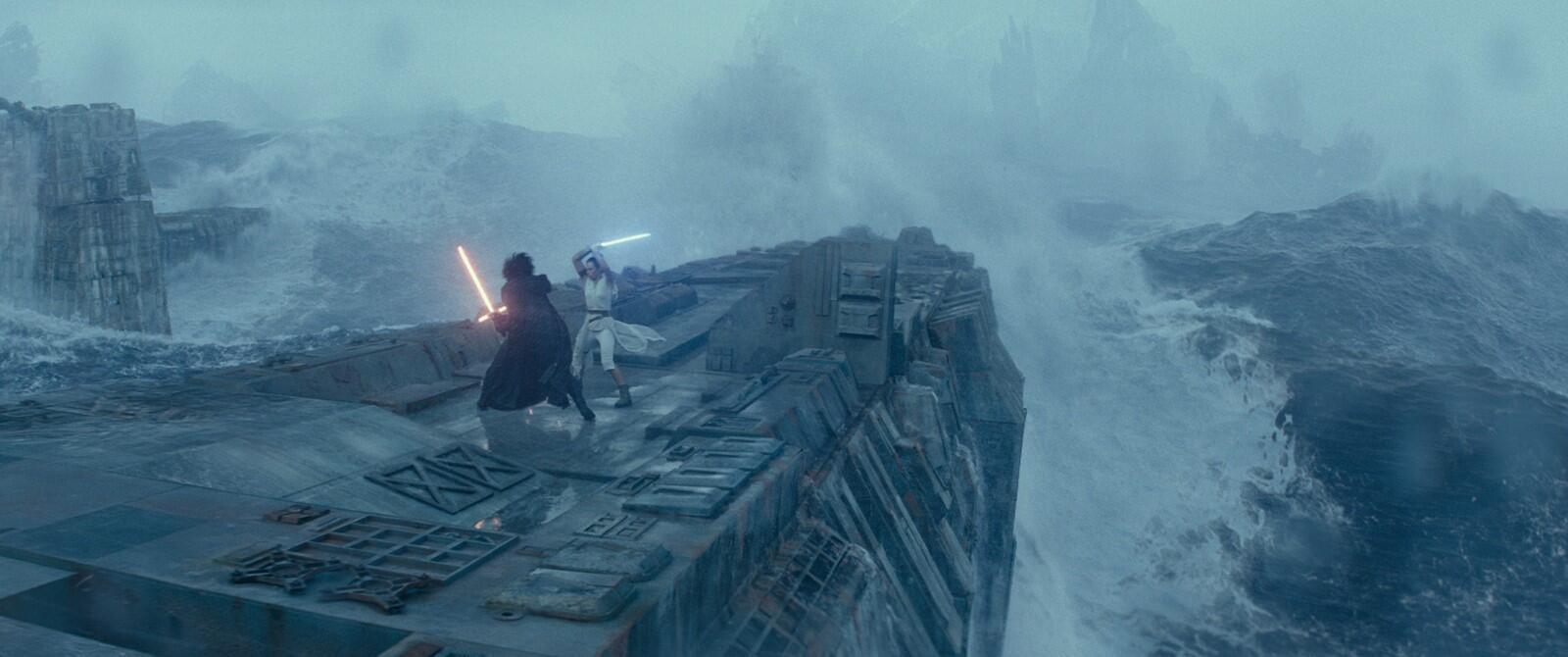 Imagem do nono e último episódio da trilogia de Star Wars em exibição nos cinemas do mundo. 18 de Dezembro de 2019