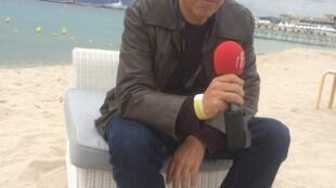Luís Urbano, produtor português de cinema, em Cannes a 17 de Maio de 2019.
