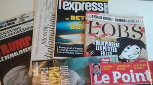 Primeiras páginas dos jornais franceses de 4 de novembro de 2017