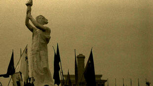 Godess of Democracy on Tian'anmen Square, June 2, 1989, two days before the crackdown