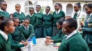 Wanafunzi wa shule nchini Zimbabawe