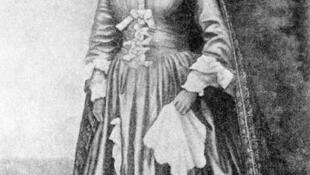 La reine Ranavalona Iere.