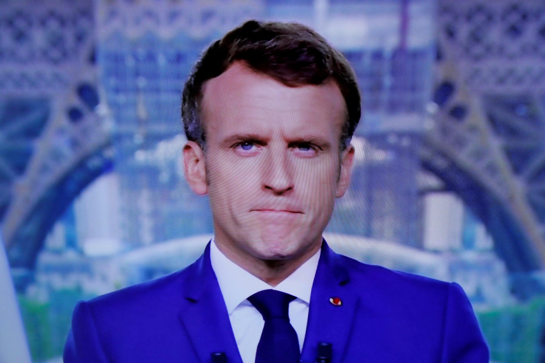 Emmanuel Macron, discours télévisé le 12 juillet 2021.