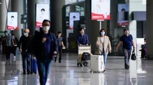 L'aéroport international de Hongqiao à Shangaï, le 21 mai 2020. (Image d'illustration)