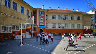 Une école en Turquie.