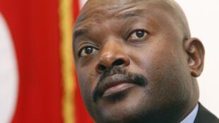 O Presidente do Burundi, Pierre Nkurunziza.