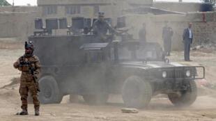 بیش از بیست تن از سربازان ارتش افغانستان توسط نفوذیهای طالبان در ولایت غزنی، در جنوب شرق این کشور، کشته شدند (تصویر آرشیو)