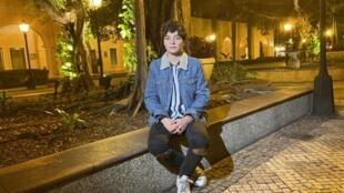 Realizadora portuguesa Leonor Teles em Macau a 9 de Dezembro de 2019.