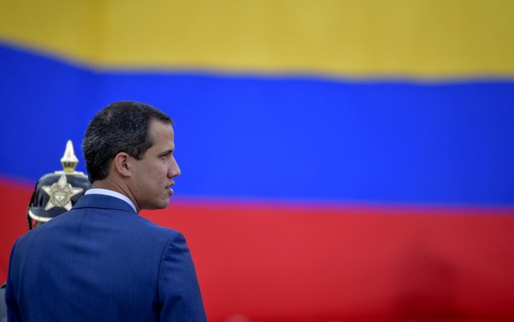 L'opposant vénézuélien Juan Guaido en Colombie, le 20 janvier 2020.