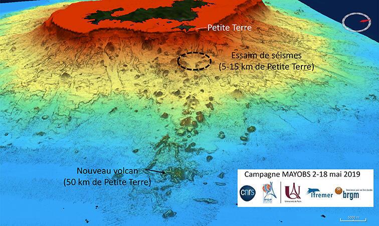 Beneath the waves: the huge undersea volcano and its very active neighbourhood.