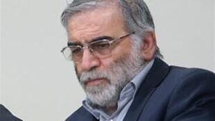 محسن فخریزاده دانشمند اتمی ایران که در اطراف تهران ترور شد.