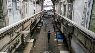 تعطیلی بازار تهران. سهشنبه ۵ تیر/ ٢۶ ژوئن ٢٠۱٨
