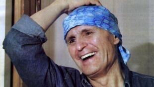 Imagen sin fecha del artista argentino, fallecido el 5 de noviembre de 2012.
