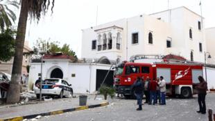 L'explosion a eu lieu dans une rue où se trouvent plusieurs ambassades, dont celle d'Algérie, visée en janvier dernier par un attentat.