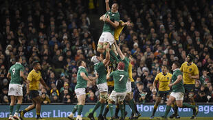 Ireland beat Australia 27-24 in a thrilling encounter in Dublin.