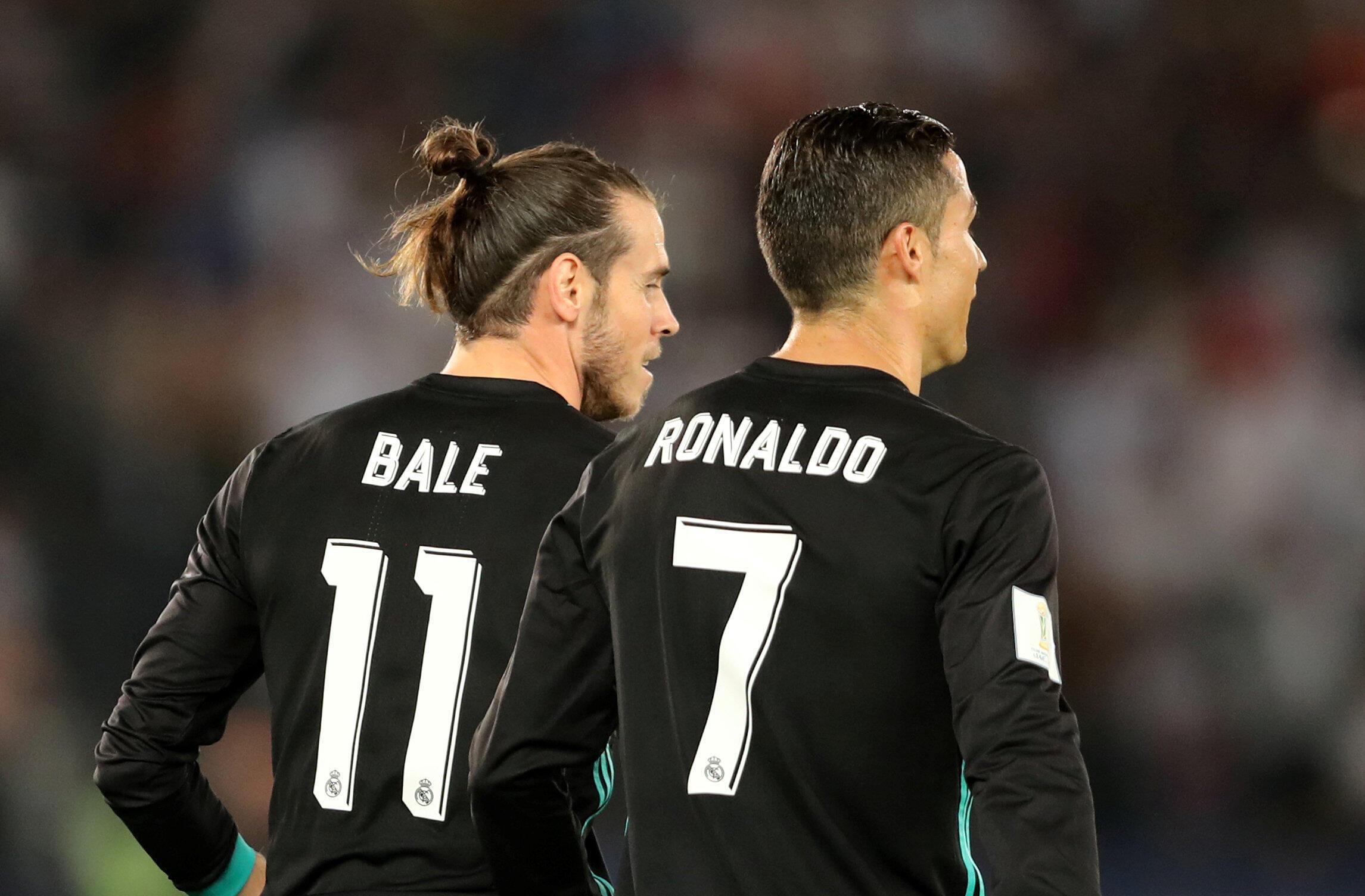 Gareth Bale et Cristiano Ronaldo (Real Madrid).