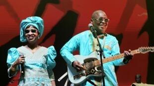Amadou et Mariam.