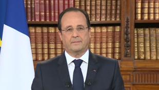 Avec le cas de Jacqueline Sauvage, c'est la deuxième fois que François Hollande exerce son droit de grâce, Ici, à l'Elysée, le 26 mai 2014.