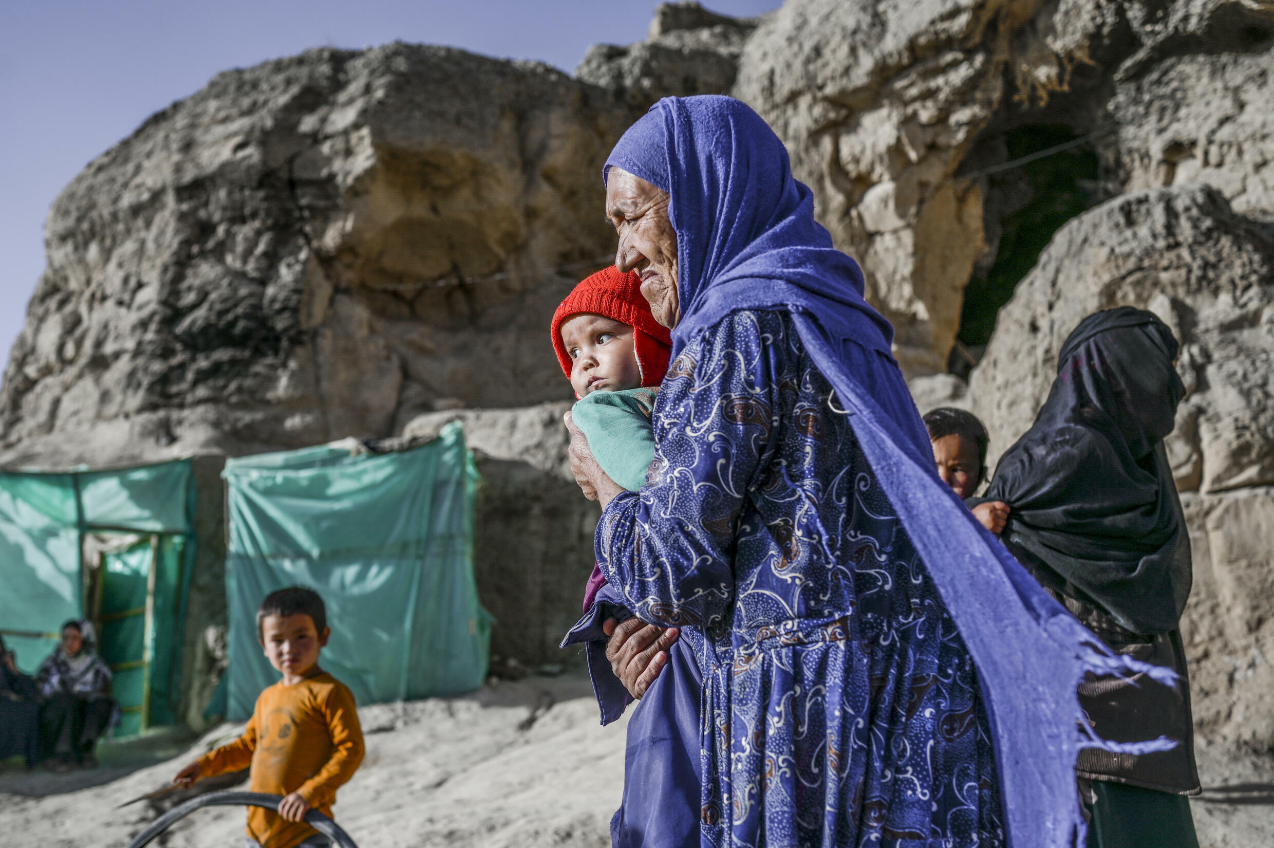 The Taliban takeover of Afghanistan has worsened the economic hardship of the community that lives in the mountainside caves of Bamiyan