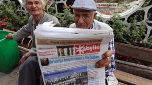 A Tizi Ouzou, les Algériens sont inquiets après l'annonce de l'éxécution d'Hervé Gourdel.