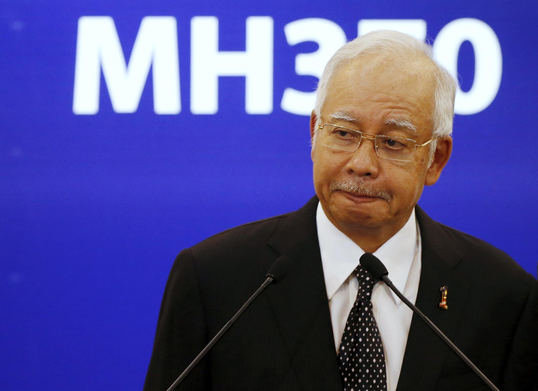 Primeiro-ministro da Malásia,  Najib Razak, confirma que peça encontrada na ilha da Reunião pertencia ao MH370.