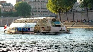 Batobus on the Seine River