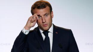 Le président Emmanuel Macron.