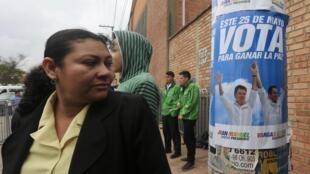 Les intentions de votes ne sont pas favorables au président sortant Juan Manuel Santos pour la prochaine élection présidentielle colombienne.
