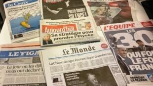 Diários franceses 07/01/2016